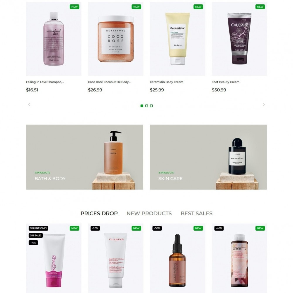 theme - Saúde & Beleza - Ledonia Cosmetics - 3