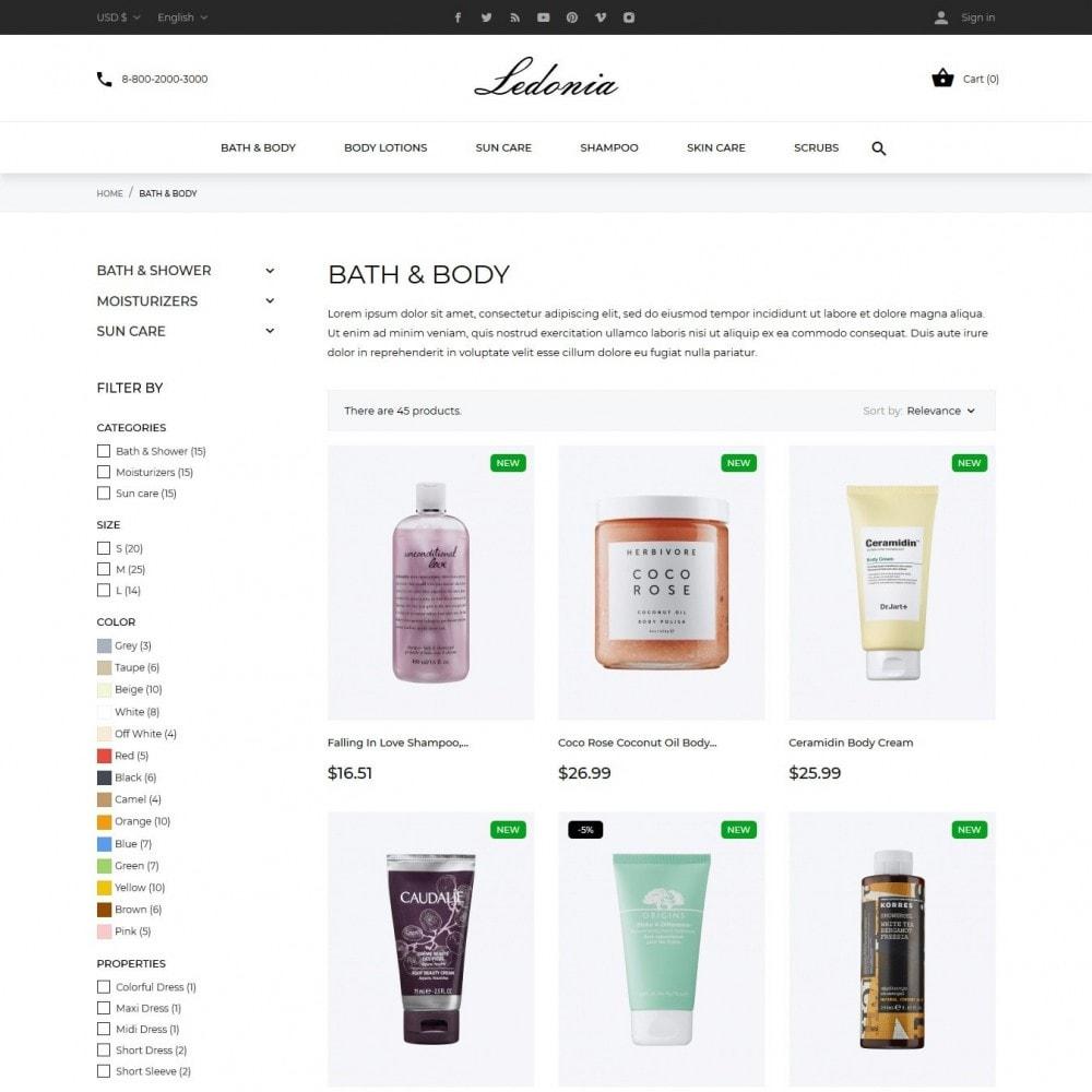 theme - Salute & Bellezza - Ledonia Cosmetics - 5