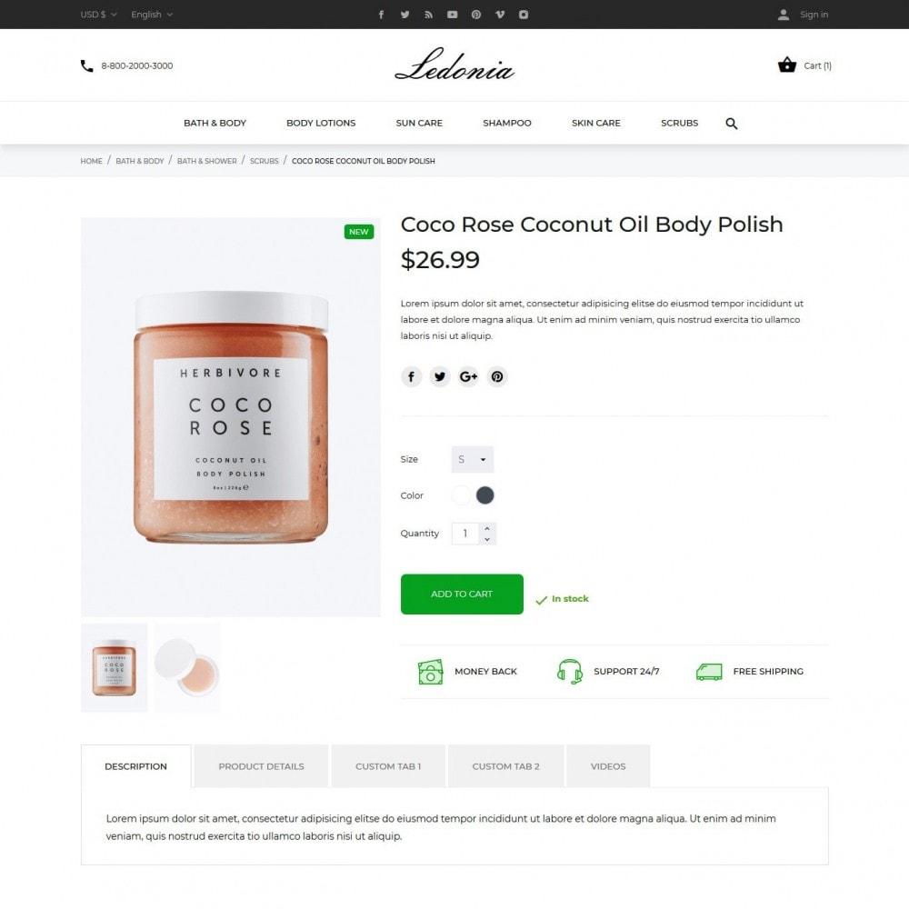 theme - Saúde & Beleza - Ledonia Cosmetics - 6