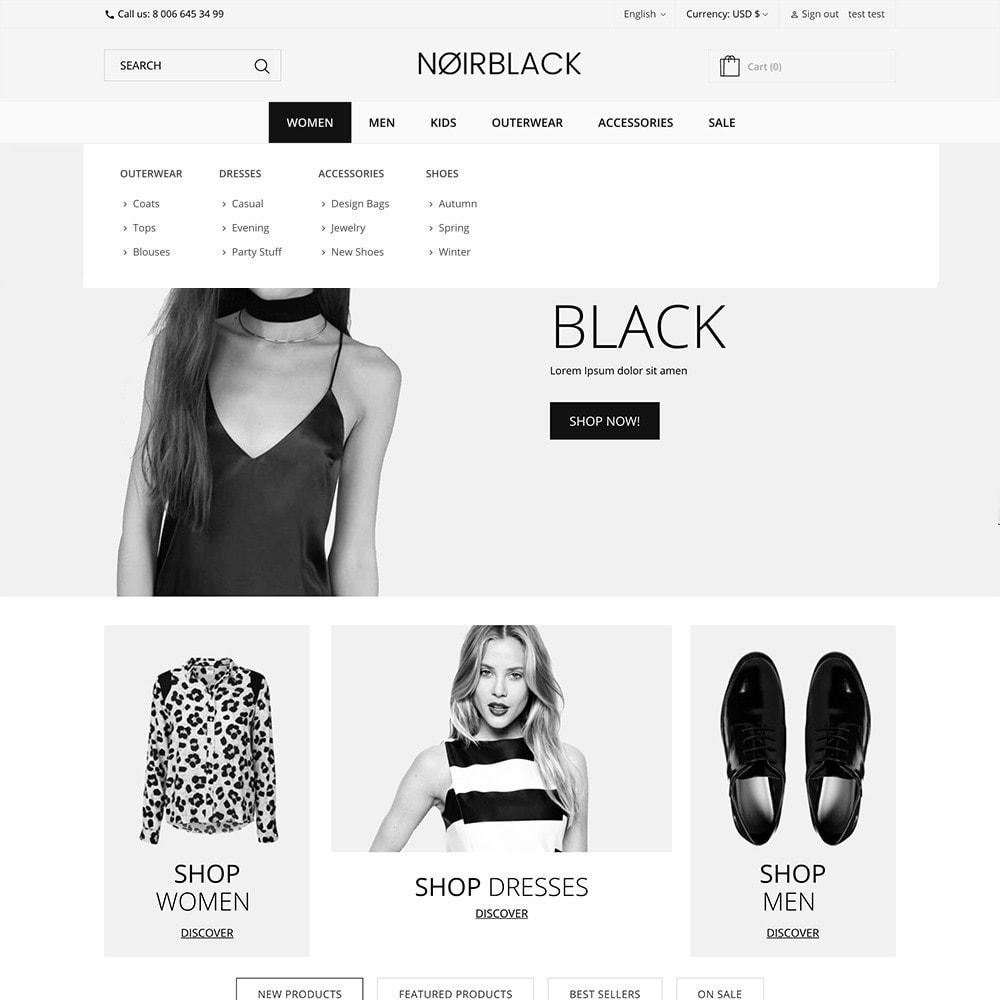 theme - Fashion & Shoes - Noirblack - 2
