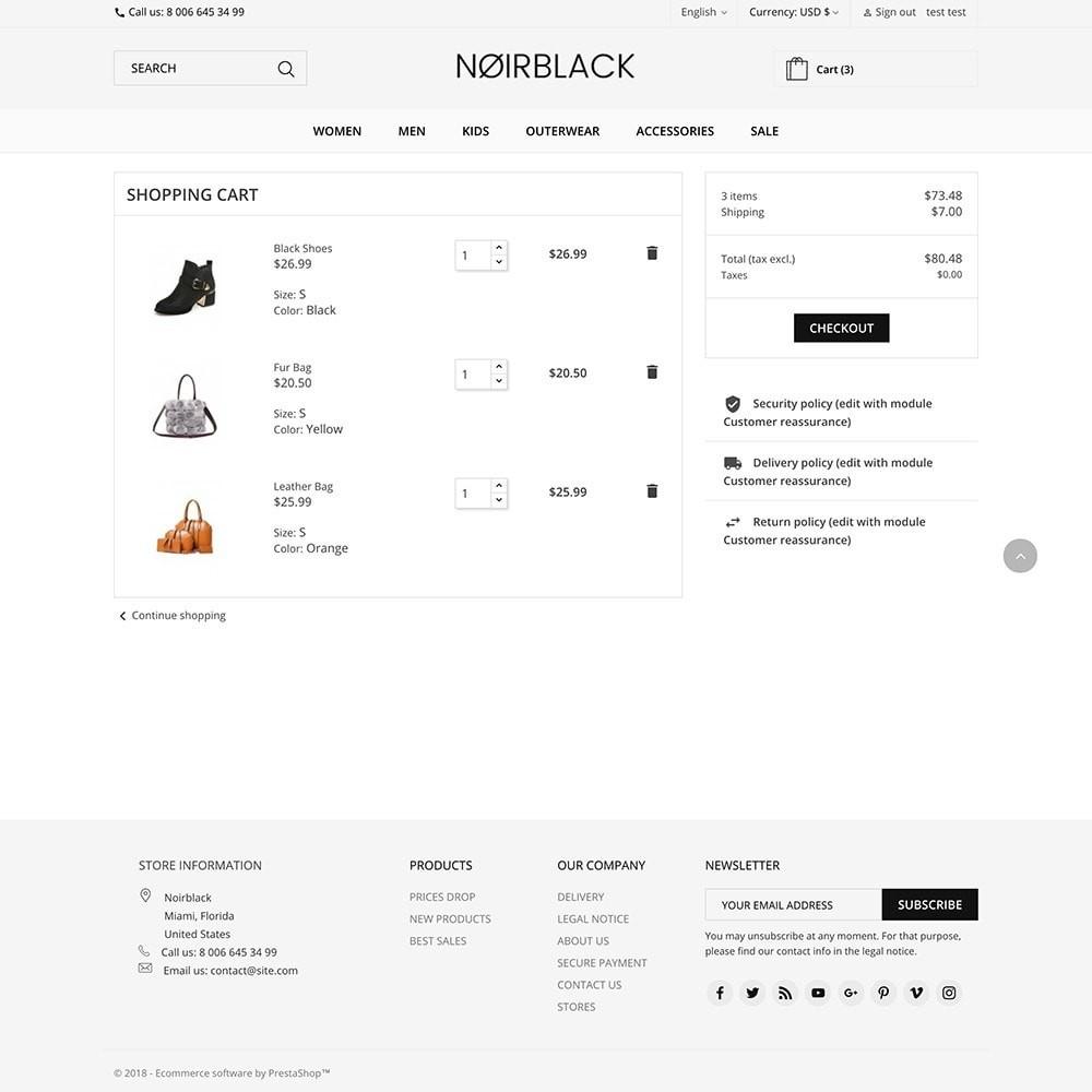 theme - Мода и обувь - Noirblack - 5