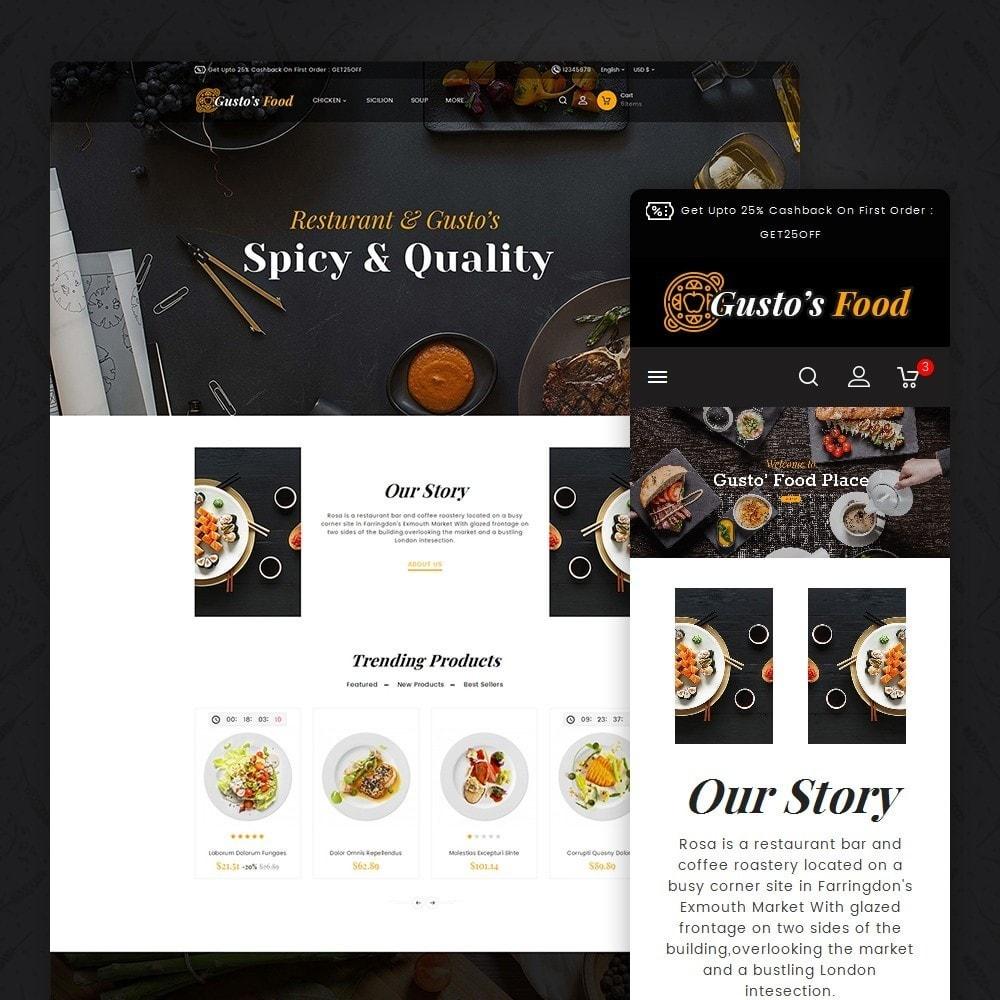 theme - Lebensmittel & Restaurants - Gusto Restaurant Food - 1