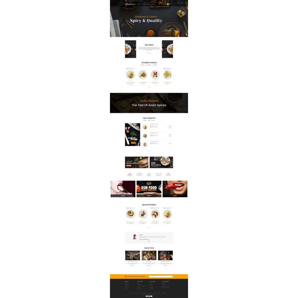 theme - Alimentation & Restauration - Gusto Restaurant Food - 2