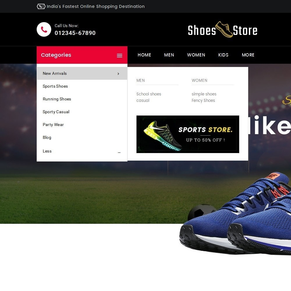 theme - Sport, Loisirs & Voyage - Sports Shoes Store - 8