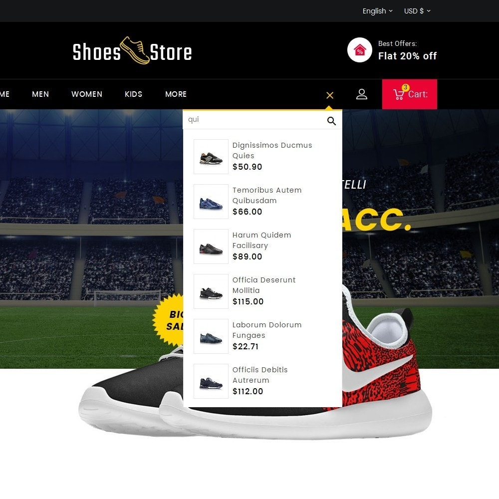 theme - Sport, Loisirs & Voyage - Sports Shoes Store - 9