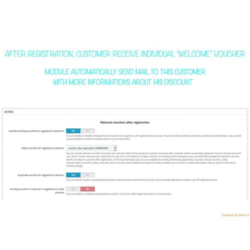 module - Promocje & Prezenty - Wyślij kupon po rejestracji lub zamówieniu - 1