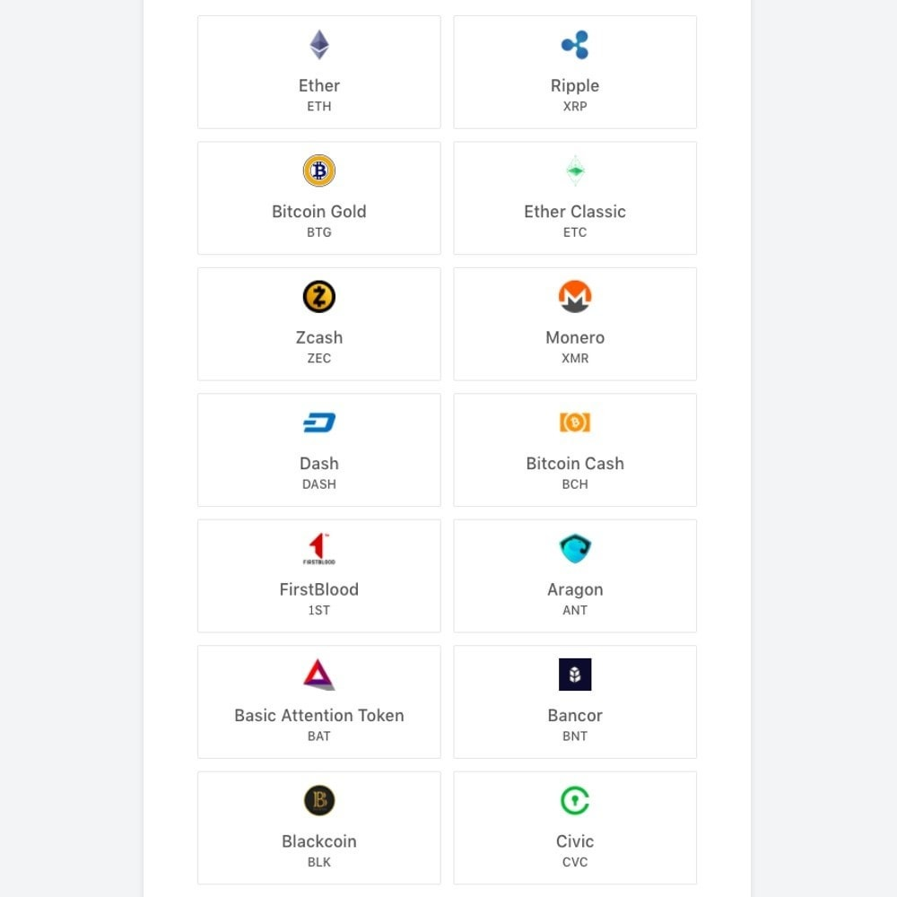 module - Autres moyens de paiement - Accept Bitcoin and 50+ Cryptocurrencies with CoinGate - 4