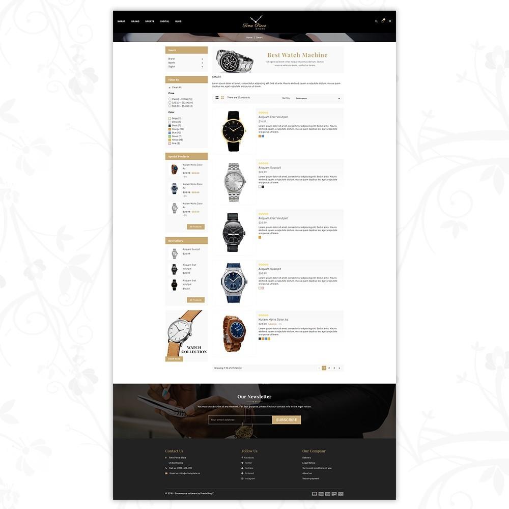 theme - Desporto, Actividades & Viagens - Timepiece - Watch Store - 4
