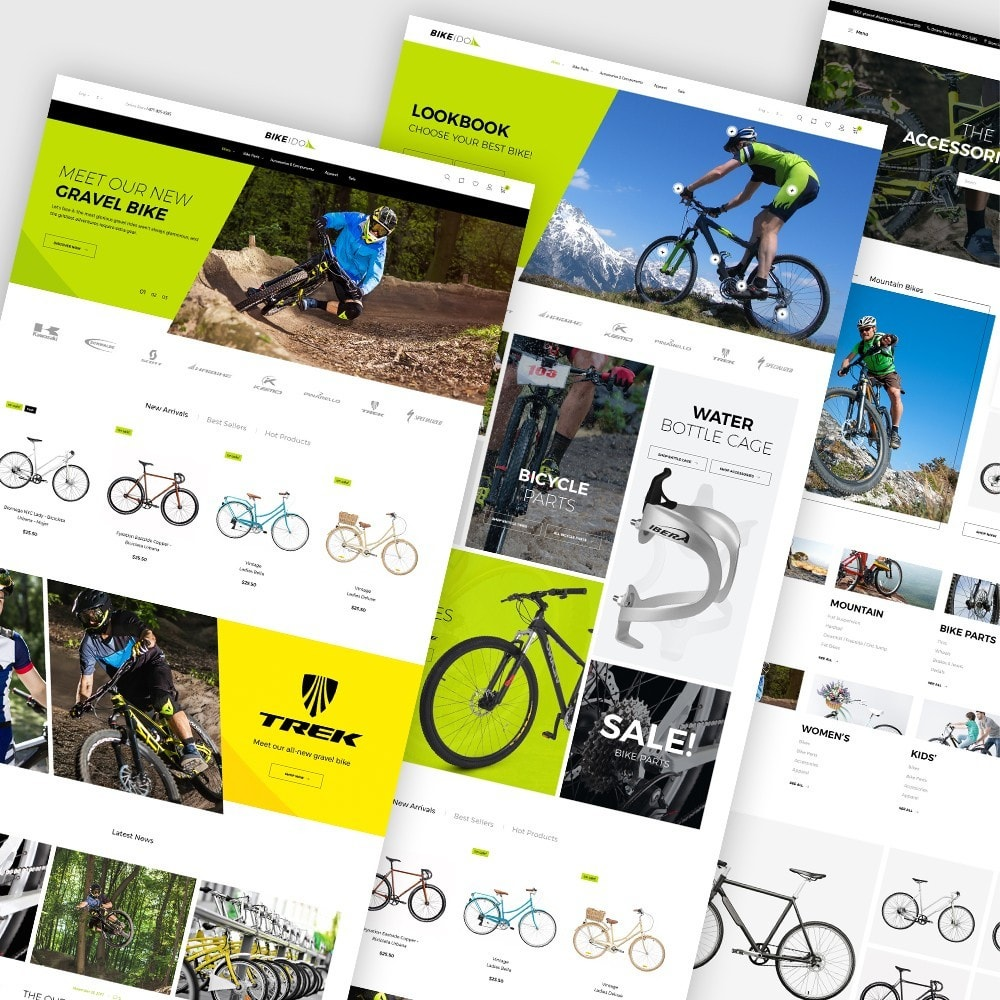 theme - Sport, Rozrywka & Podróże - BikeIdol - Bike Store - 1