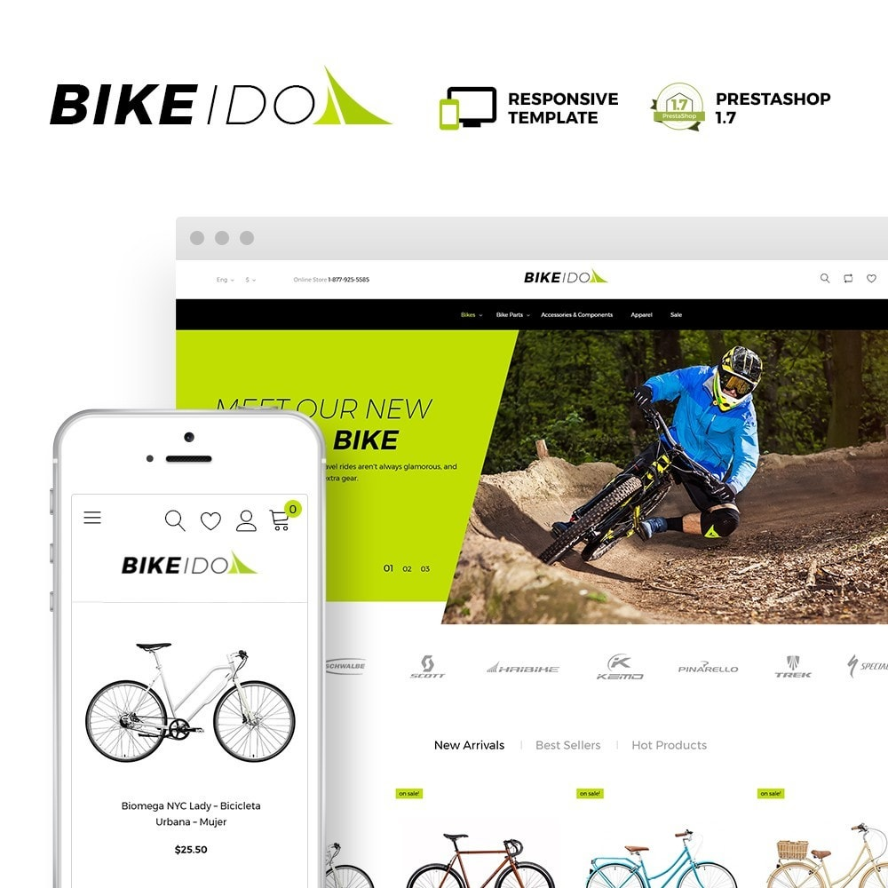 theme - Sport, Loisirs & Voyage - BikeIdol - Bike Store - 2