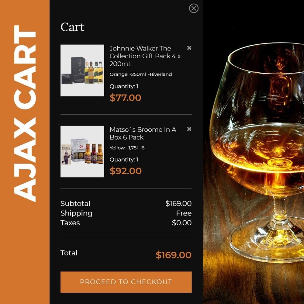 theme - Напитки и с сигареты - Spirit - Liquor store - 5