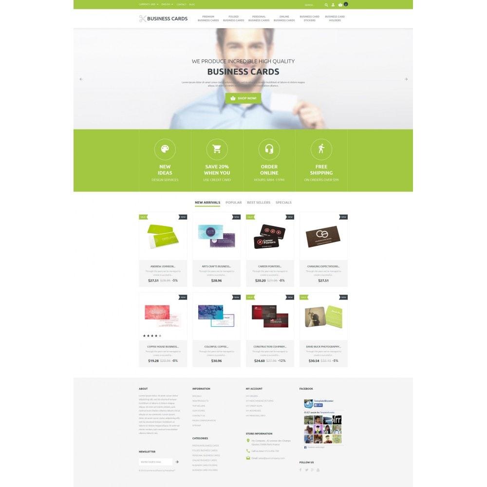 theme - Шаблоны PrestaShop - Business Cards Store - 4