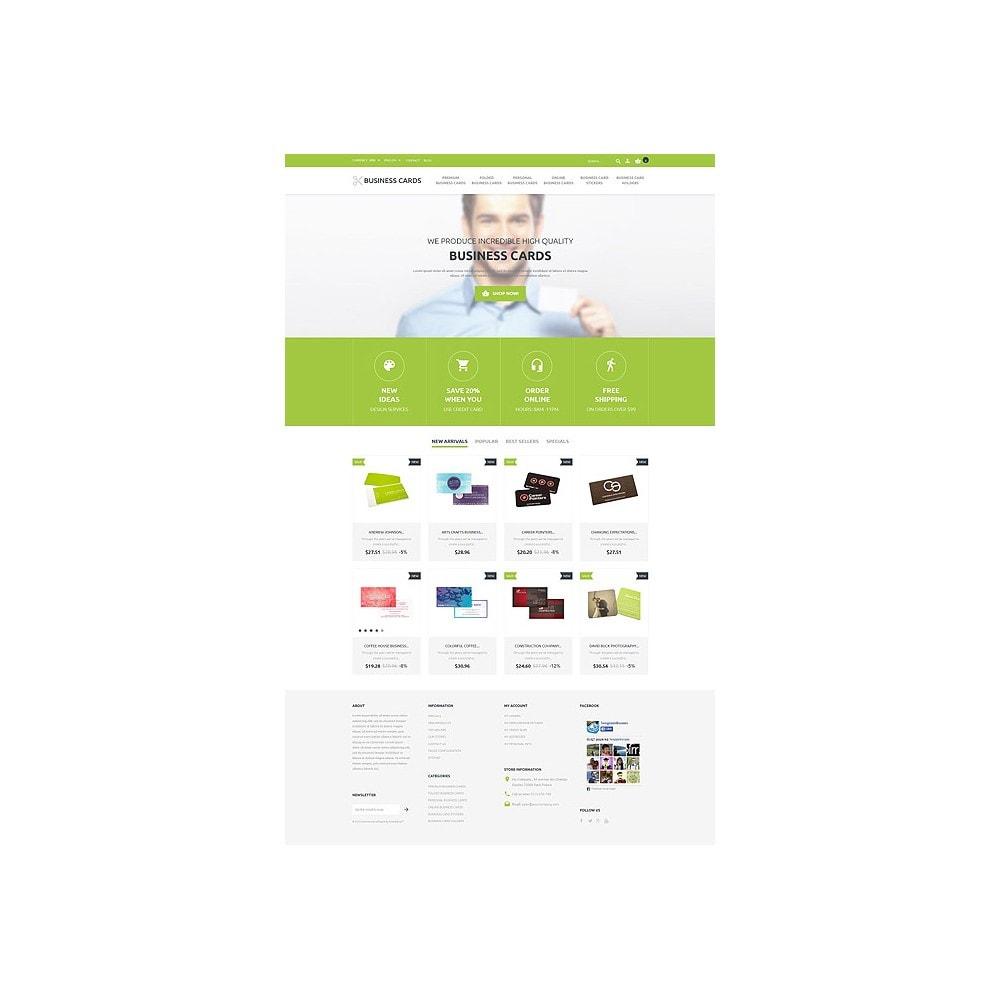 theme - Шаблоны PrestaShop - Business Cards Store - 10