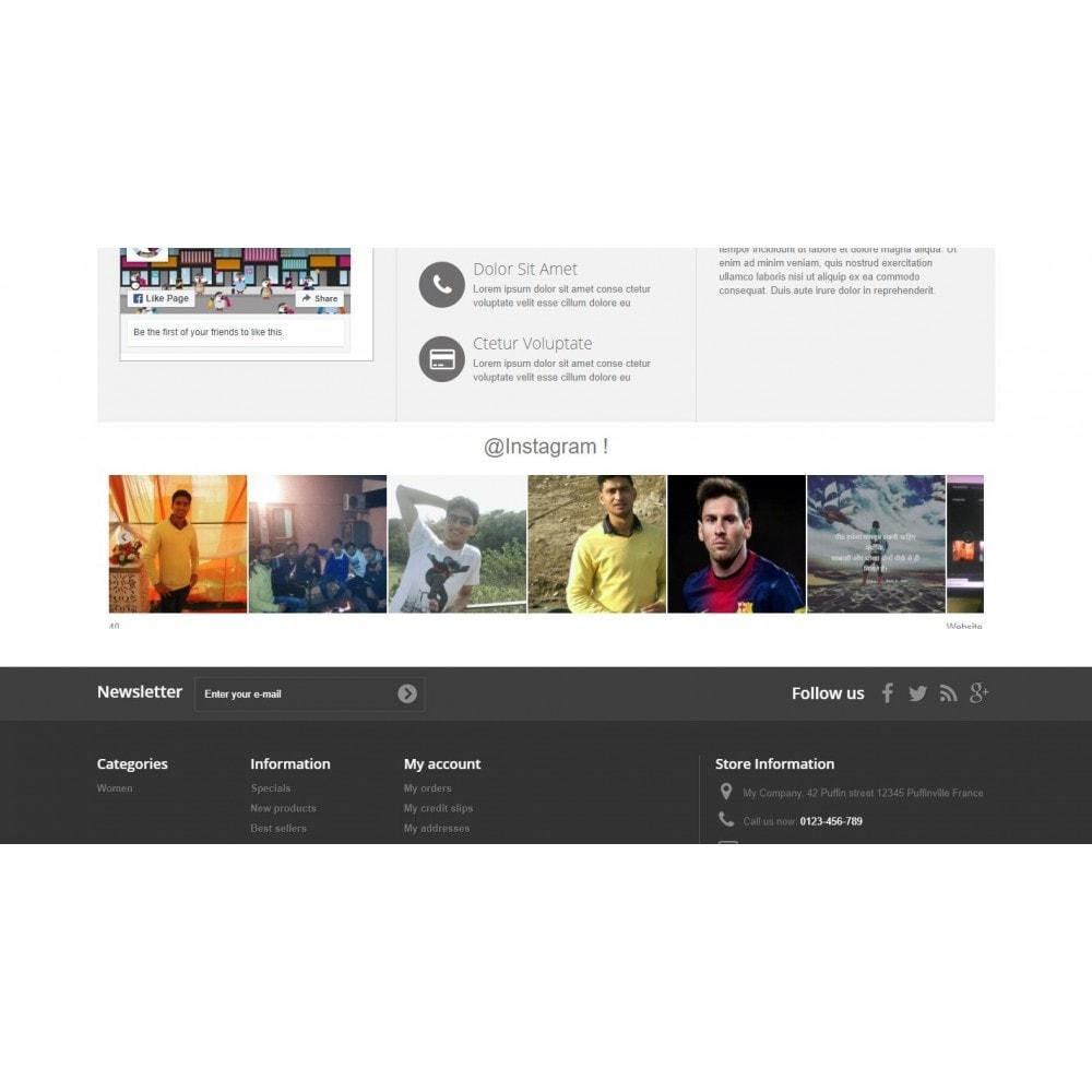 module - Widgets de Redes Sociais - Social feed Insta grm - 3