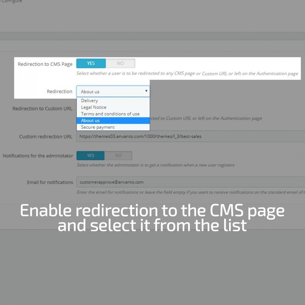 module - Administração dos Clientes - Approve Customer Account - 4