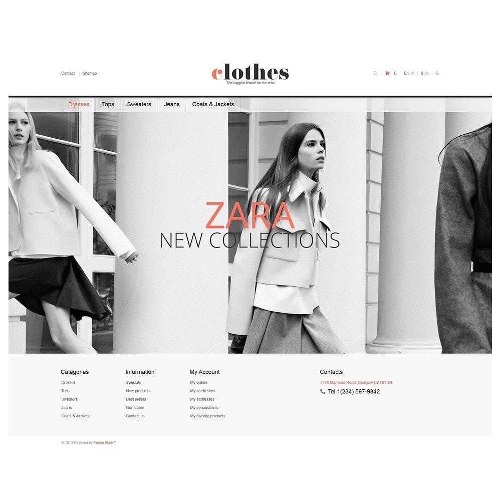 theme - Moda y Calzado - Responsive Clothes Store - 2