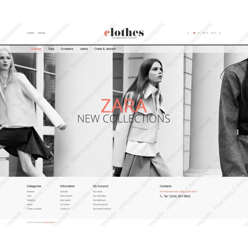 theme - Moda y Calzado - Responsive Clothes Store - 3