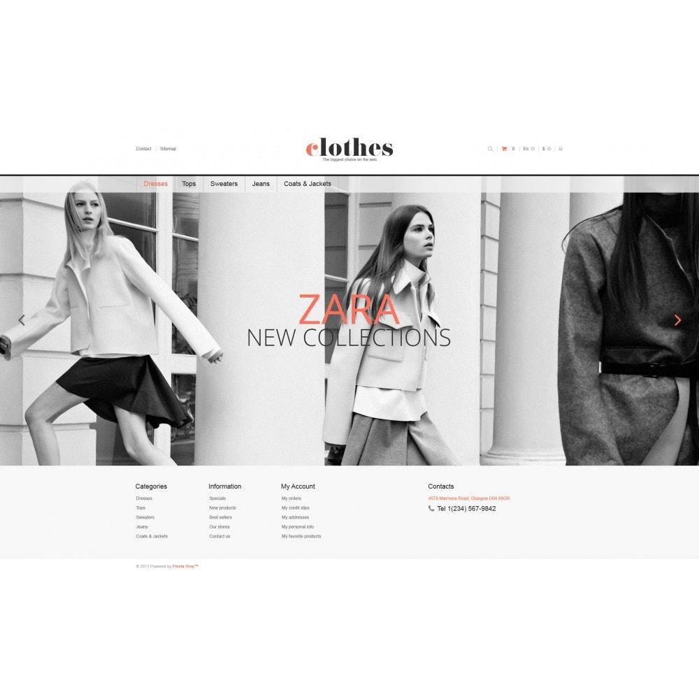 theme - Moda y Calzado - Responsive Clothes Store - 4