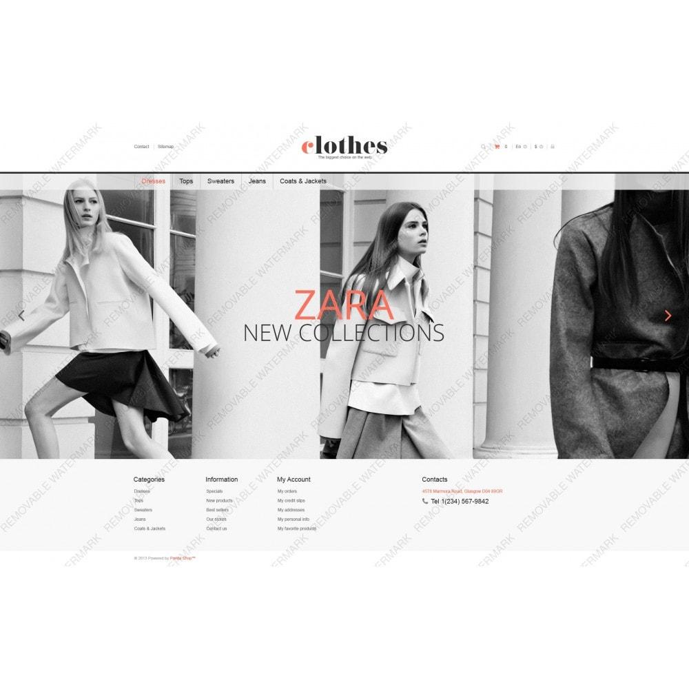 theme - Moda y Calzado - Responsive Clothes Store - 5