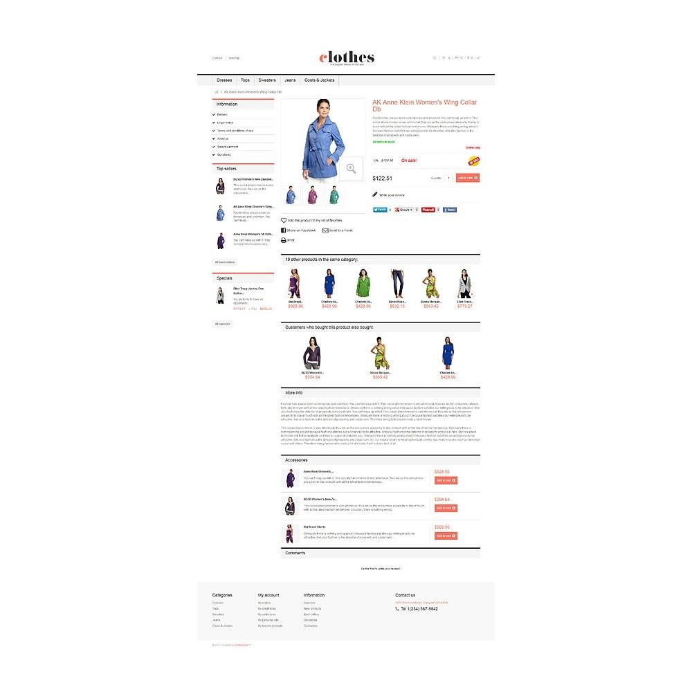 theme - Moda y Calzado - Responsive Clothes Store - 6