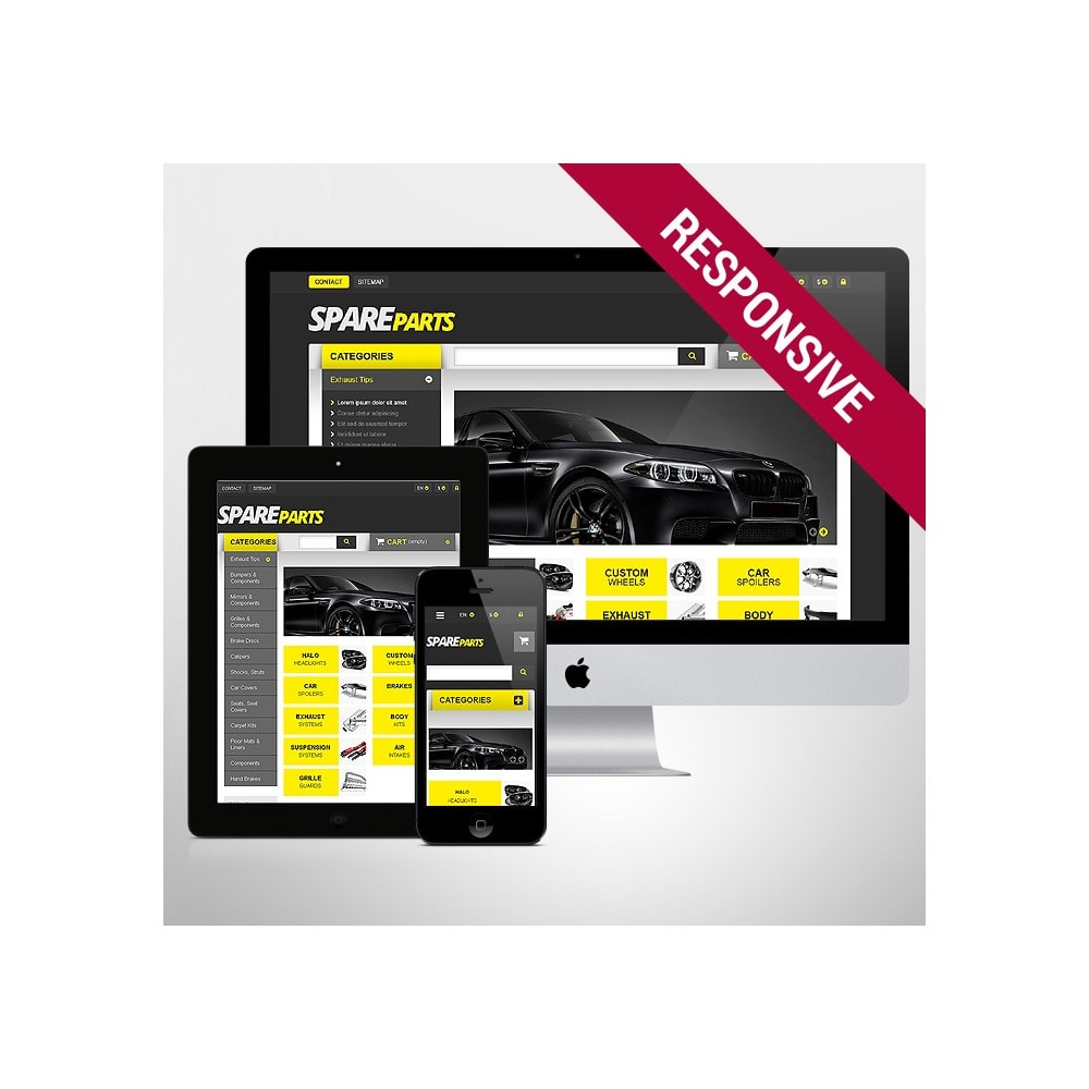 theme - Automotive & Cars - Spares for Speed - 1