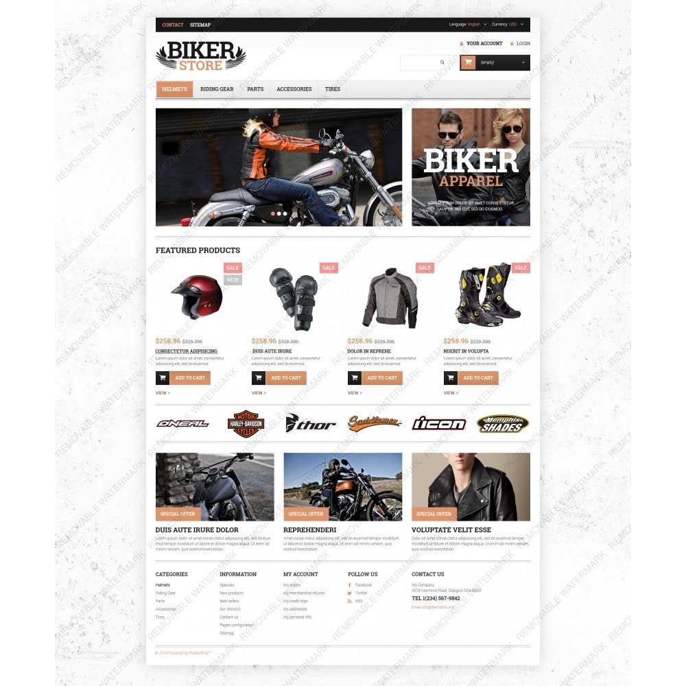 theme - Auto & Moto - Motorcycle Stuff - 3