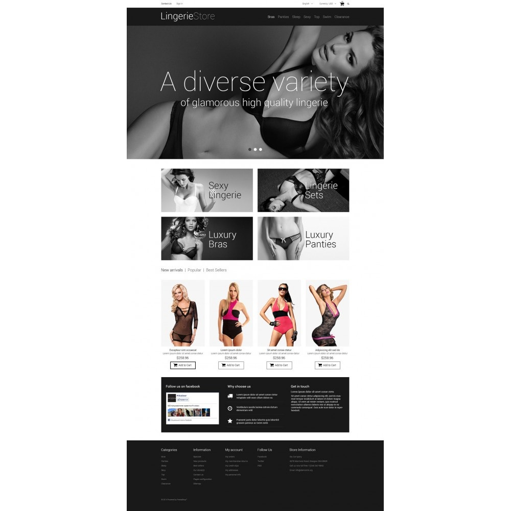 theme - Moda & Calzature - Selling Lingerie - 2