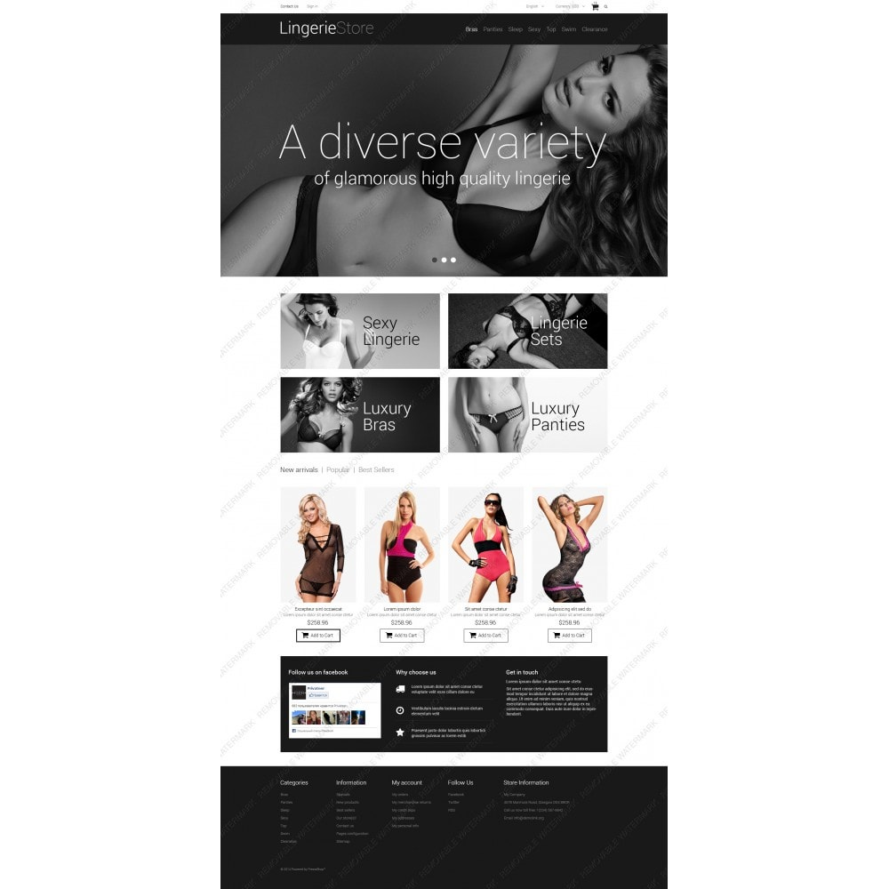 theme - Moda & Calzature - Selling Lingerie - 3