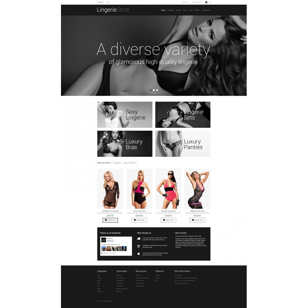 theme - Moda & Calzature - Selling Lingerie - 4