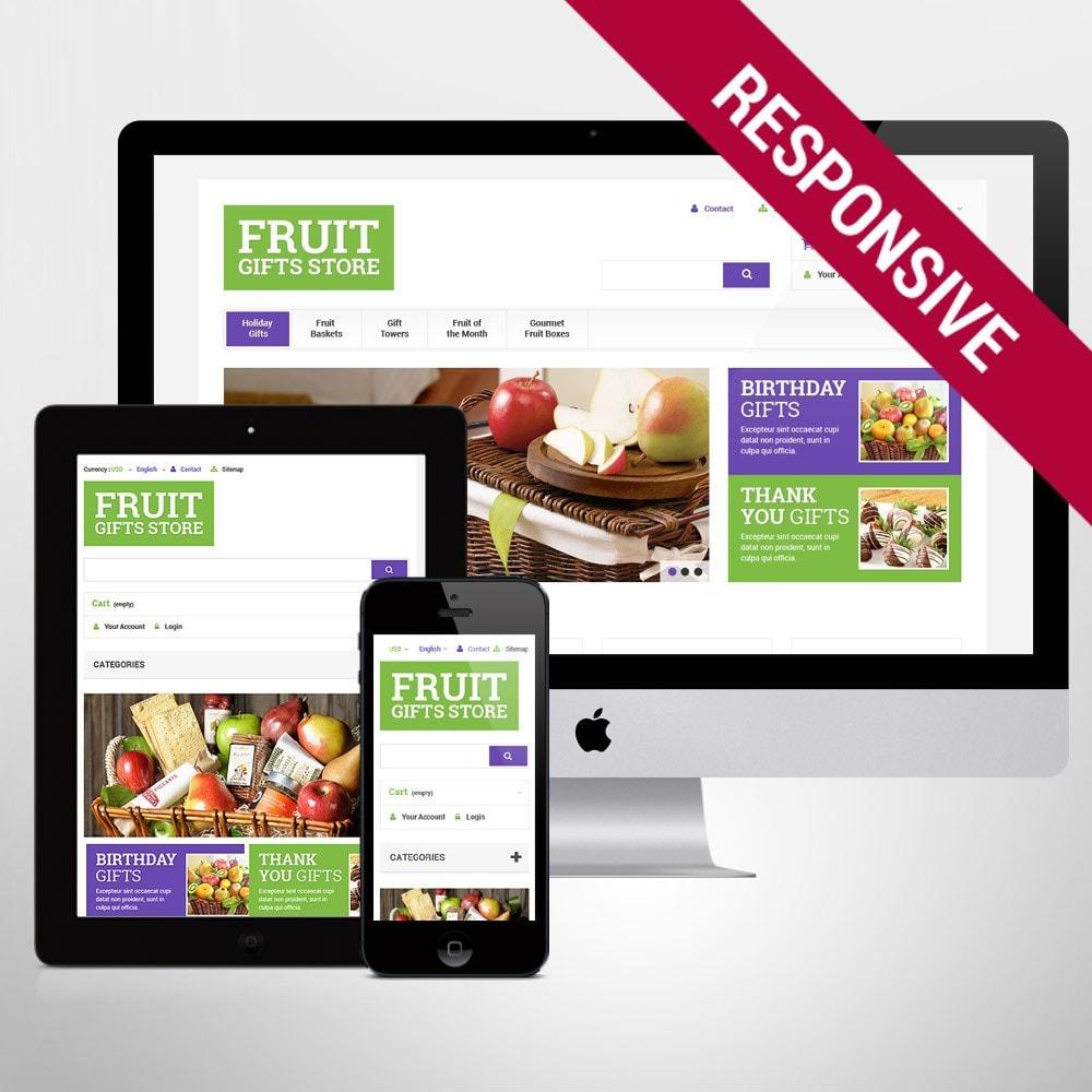 theme - Подарки, Цветы и праздничные товары - Fruit Gift Baskets - 1