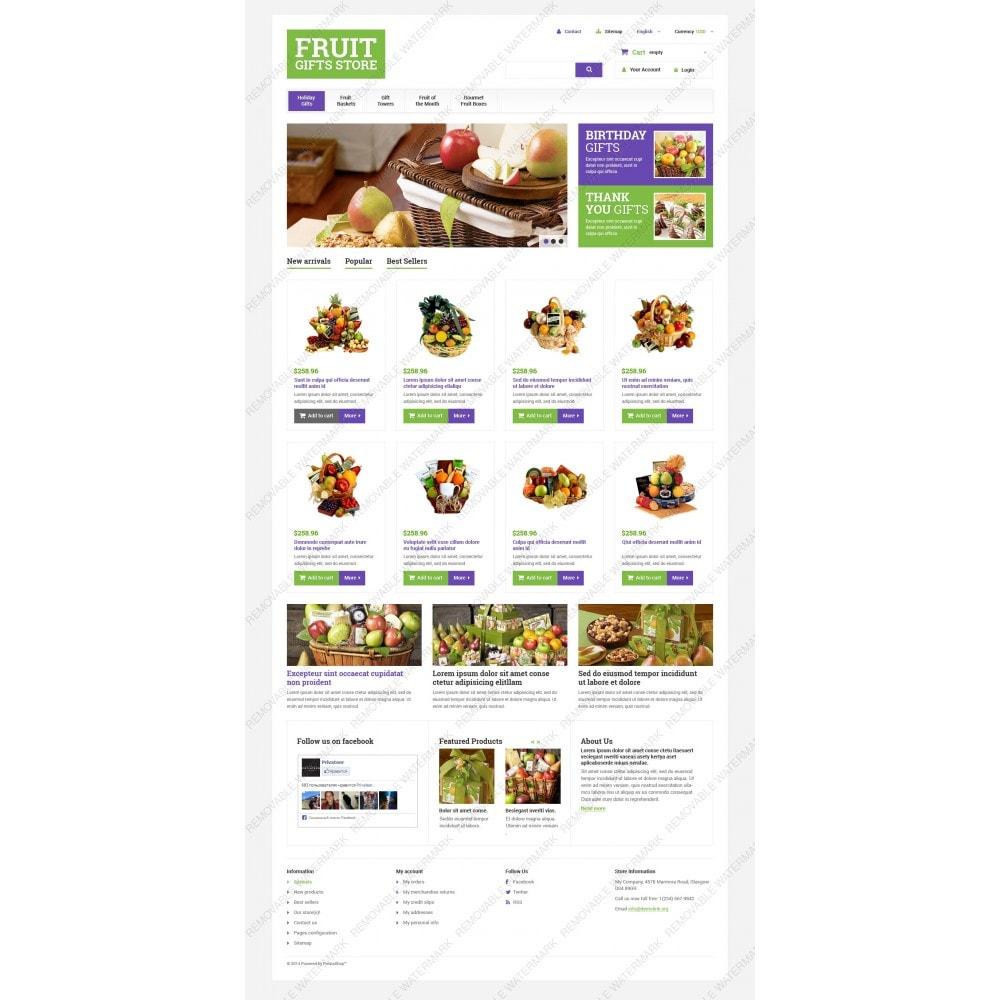 theme - Подарки, Цветы и праздничные товары - Fruit Gift Baskets - 3
