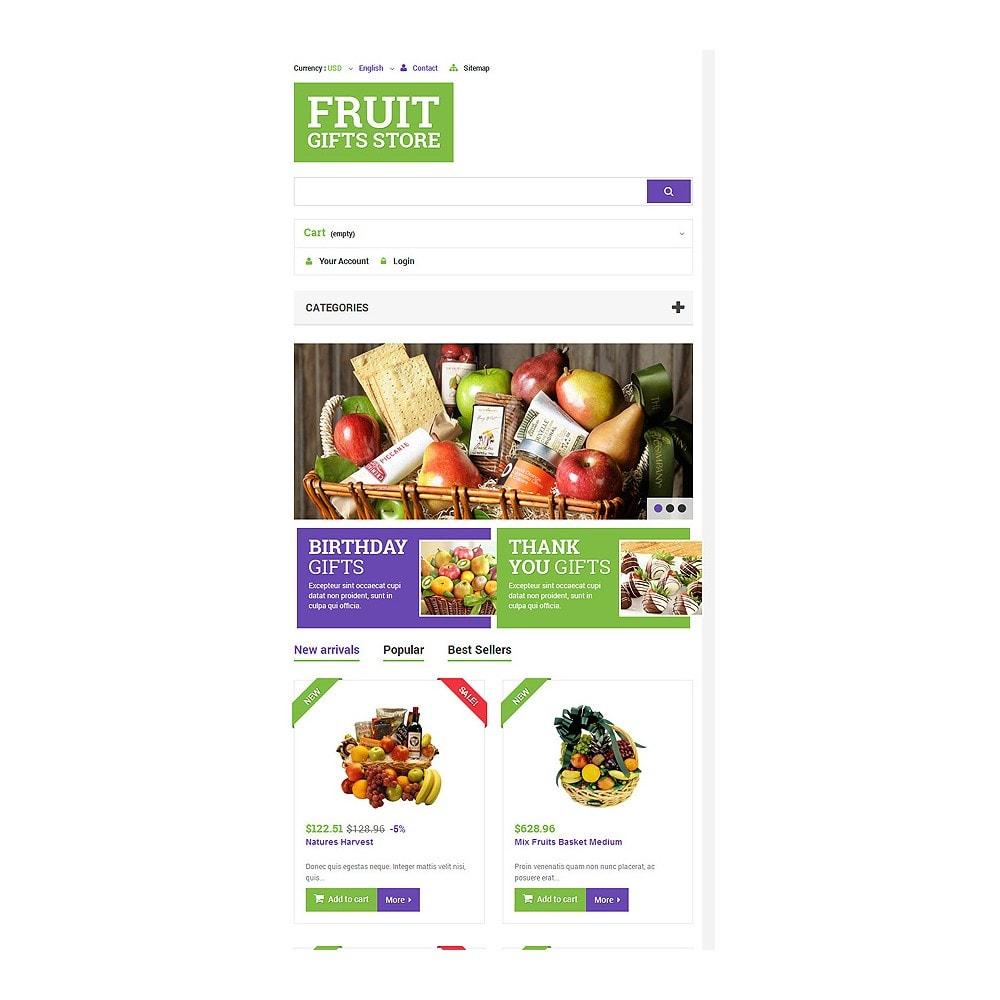 theme - Подарки, Цветы и праздничные товары - Fruit Gift Baskets - 7
