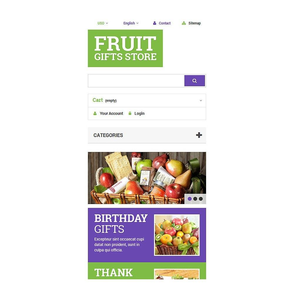 theme - Подарки, Цветы и праздничные товары - Fruit Gift Baskets - 8