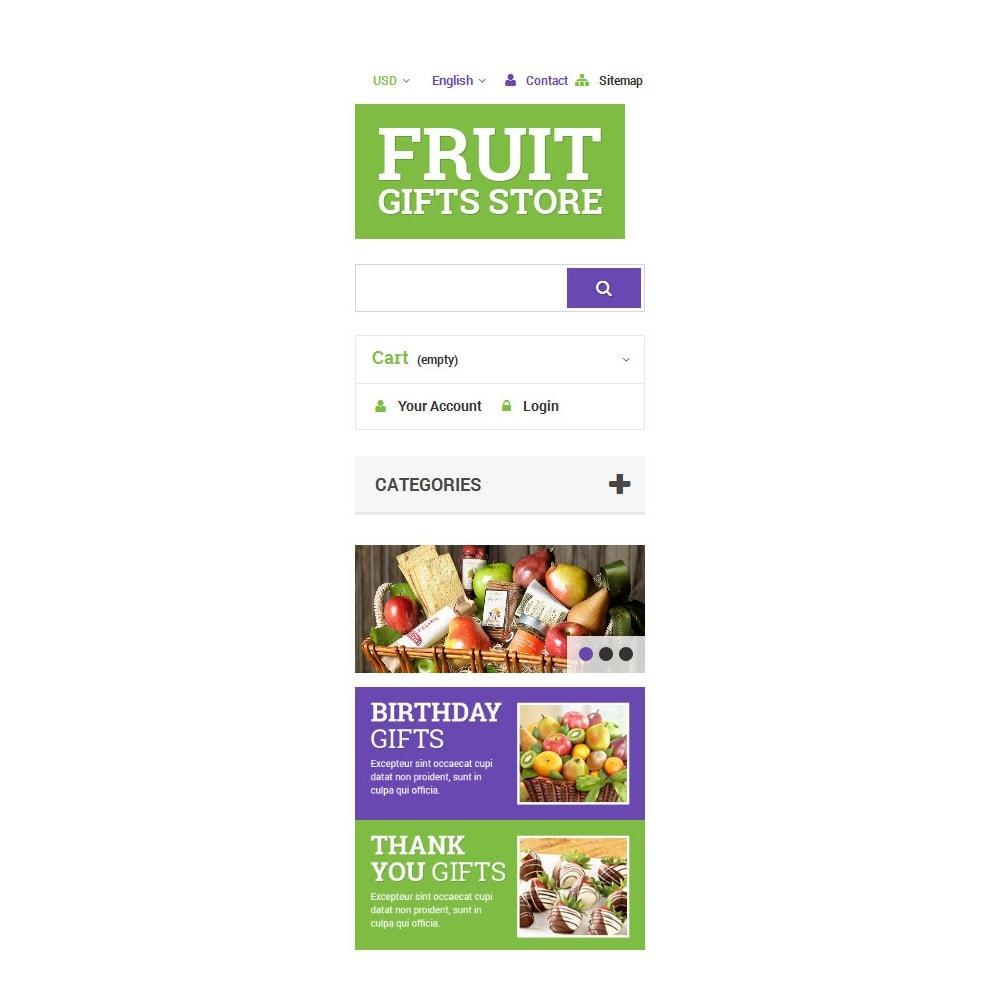 theme - Подарки, Цветы и праздничные товары - Fruit Gift Baskets - 9