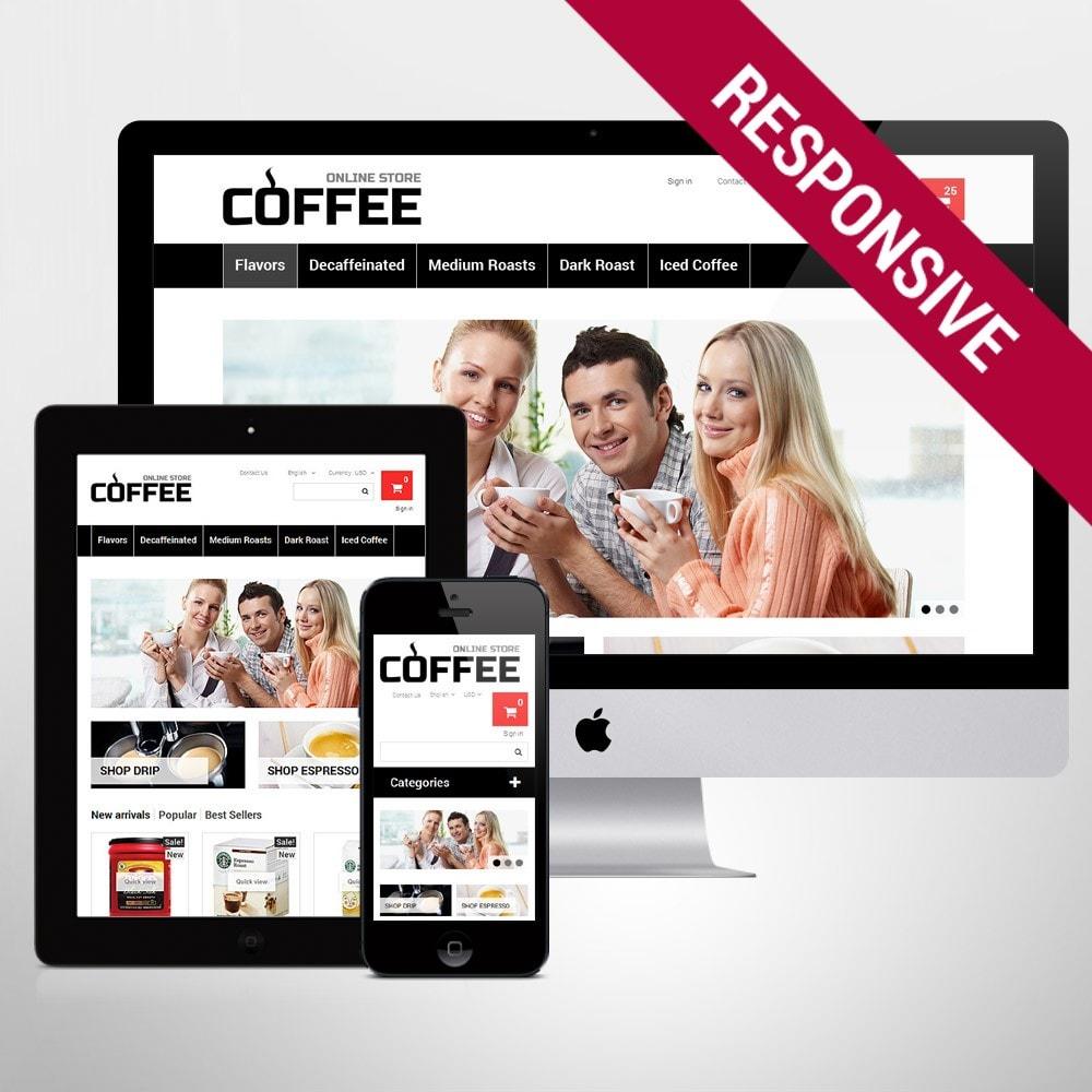 theme - Alimentos & Restaurantes - Strong Coffee - 1