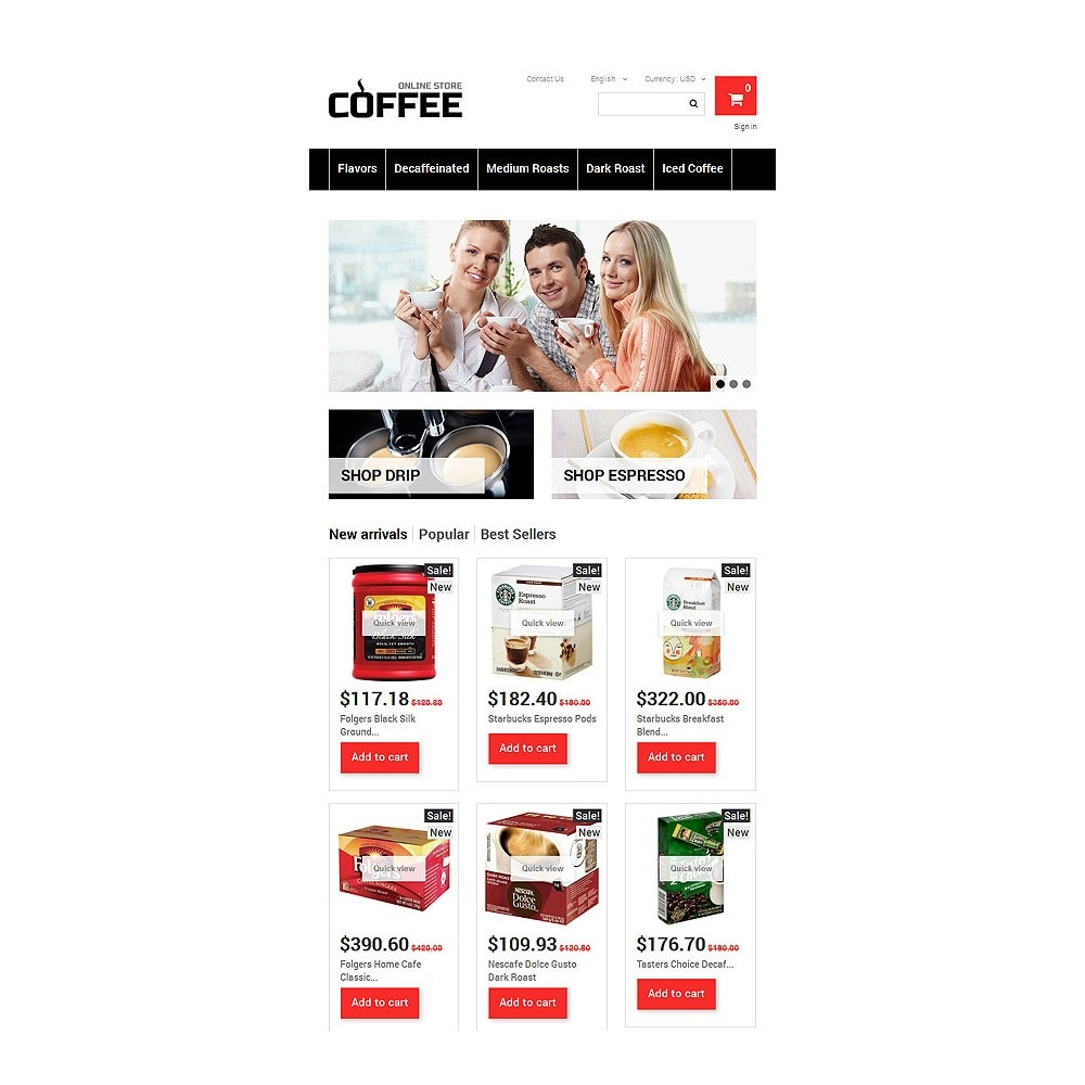 theme - Alimentos & Restaurantes - Strong Coffee - 7