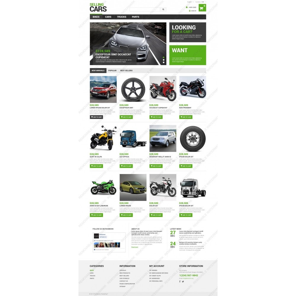 theme - Auto & Moto - Selling Cars - 3
