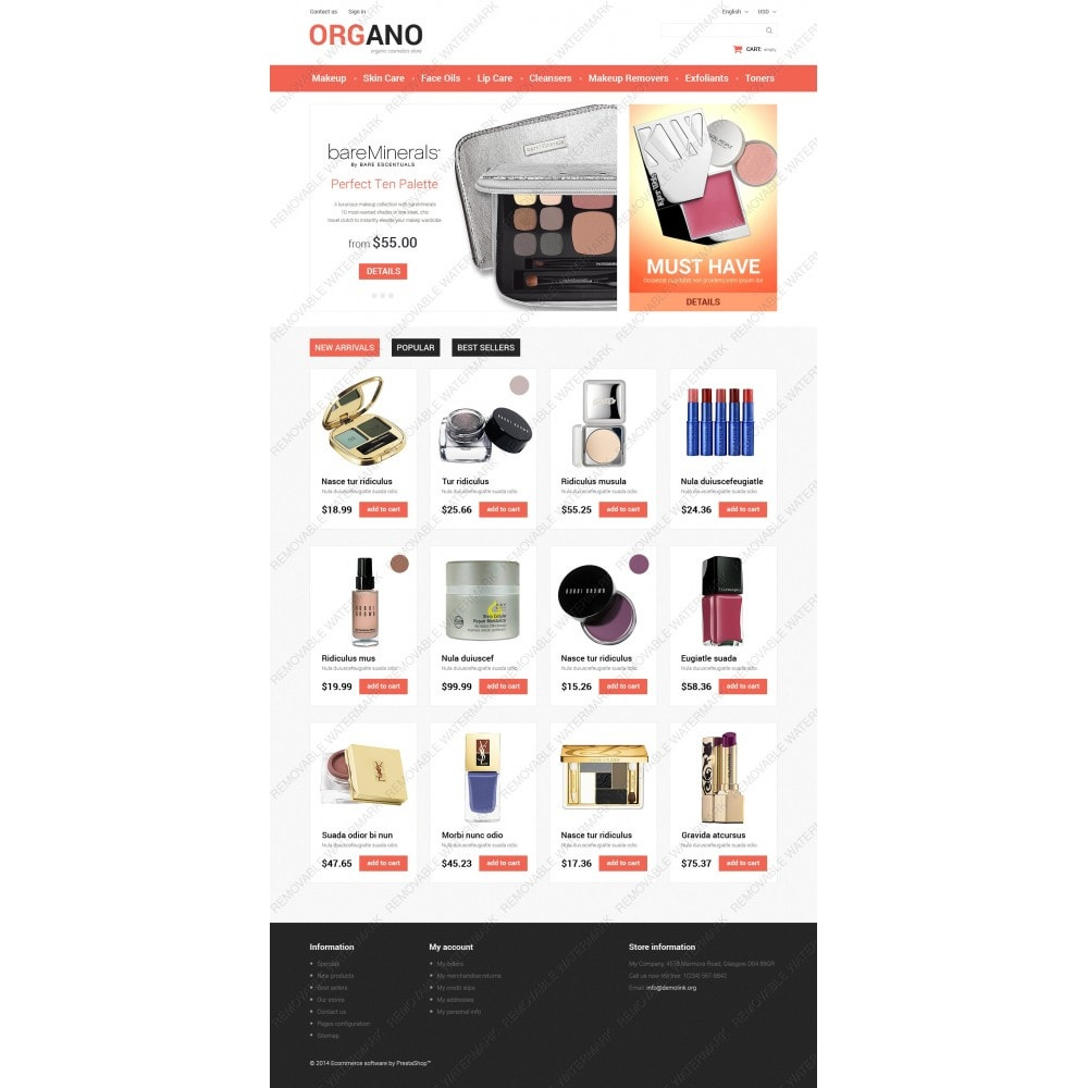 theme - Fashion & Shoes - All Occasions Beauty - 3