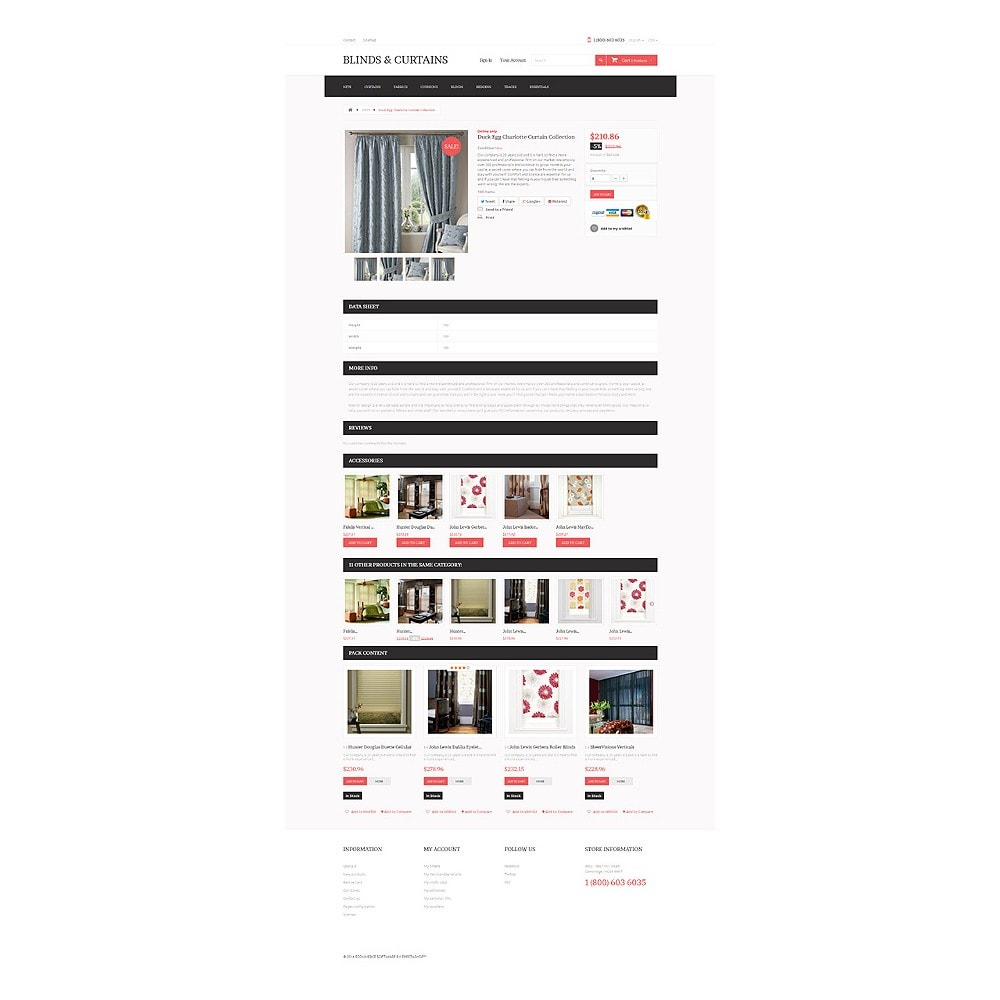 theme - Arte e Cultura - Curtains Store - 6