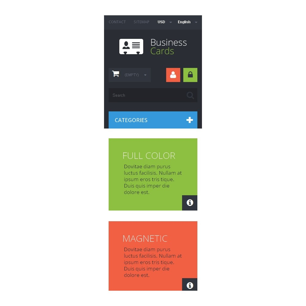 theme - Temas PrestaShop - Business Cards Store - 9