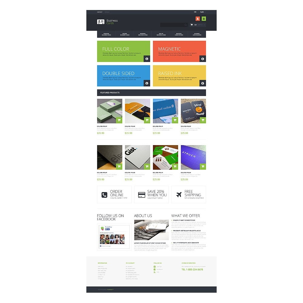theme - Temas PrestaShop - Business Cards Store - 10
