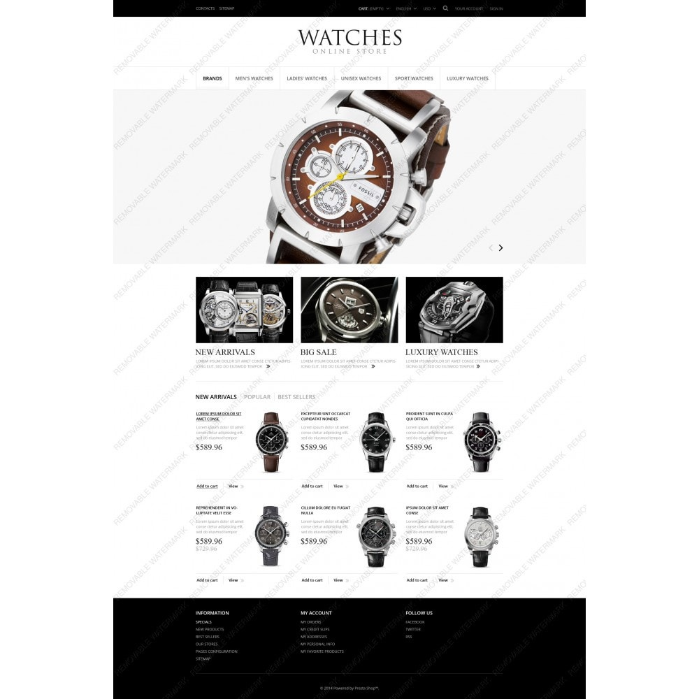 theme - Mode & Chaussures - Exclusive Watches - 3