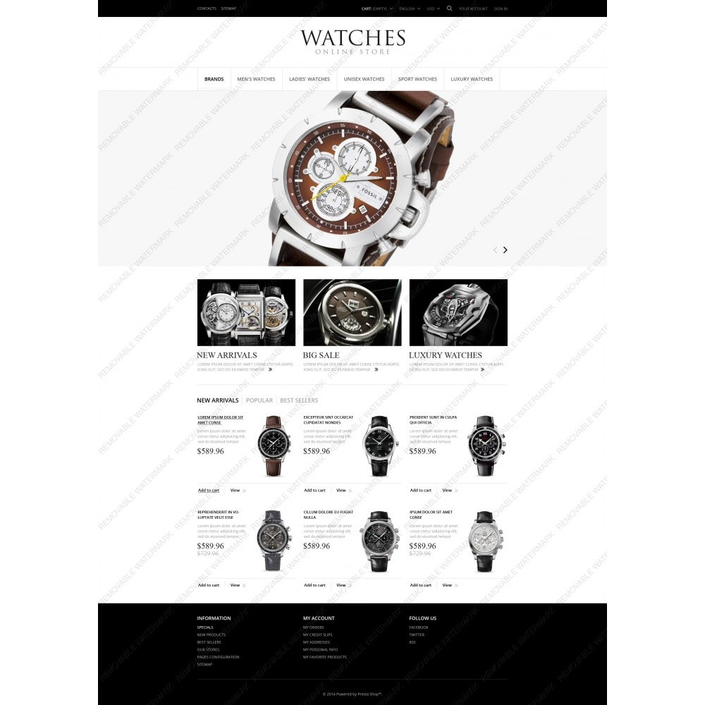 theme - Mode & Chaussures - Exclusive Watches - 5
