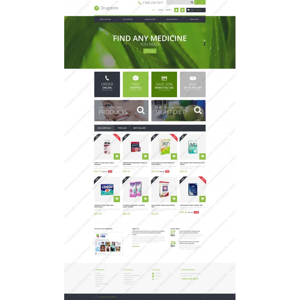 theme - Salud y Belleza - Medical Ecommerce Business - 3