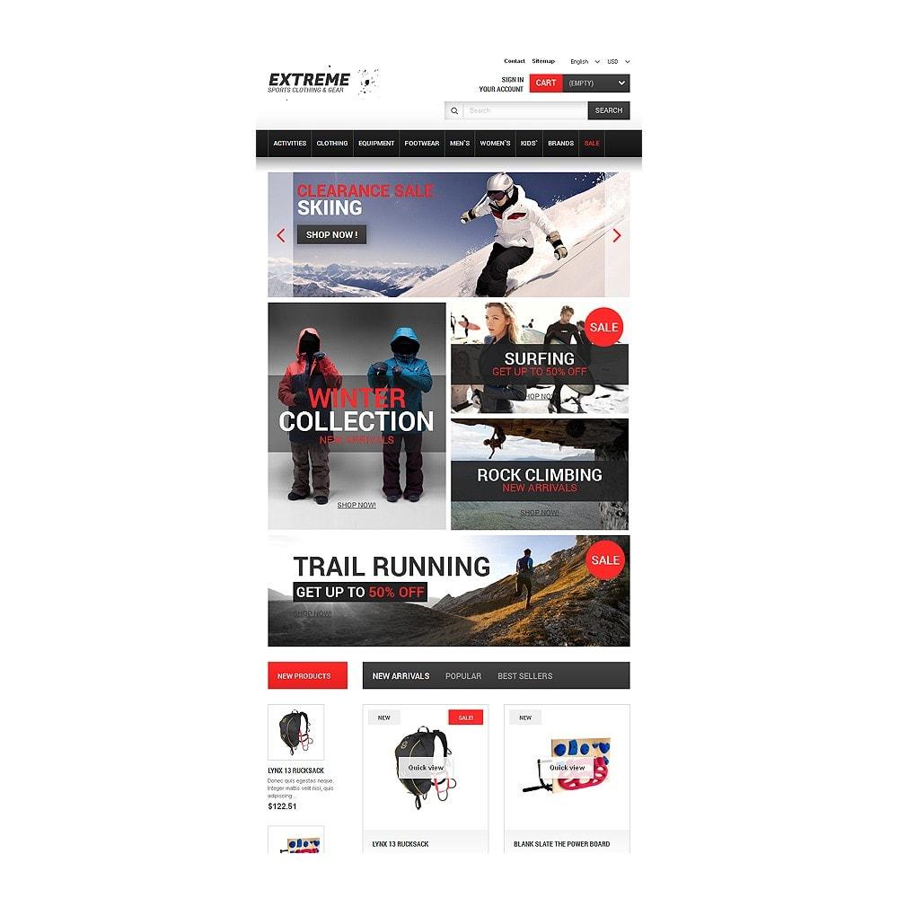theme - Sport, Activiteiten & Reizen - Extreme Sports Gear - 7