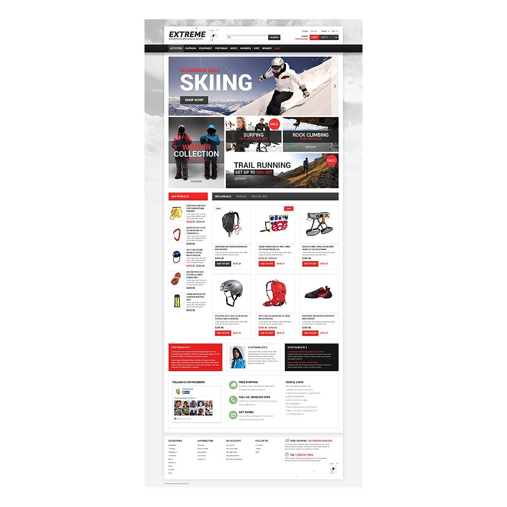 theme - Sport, Activiteiten & Reizen - Extreme Sports Gear - 10