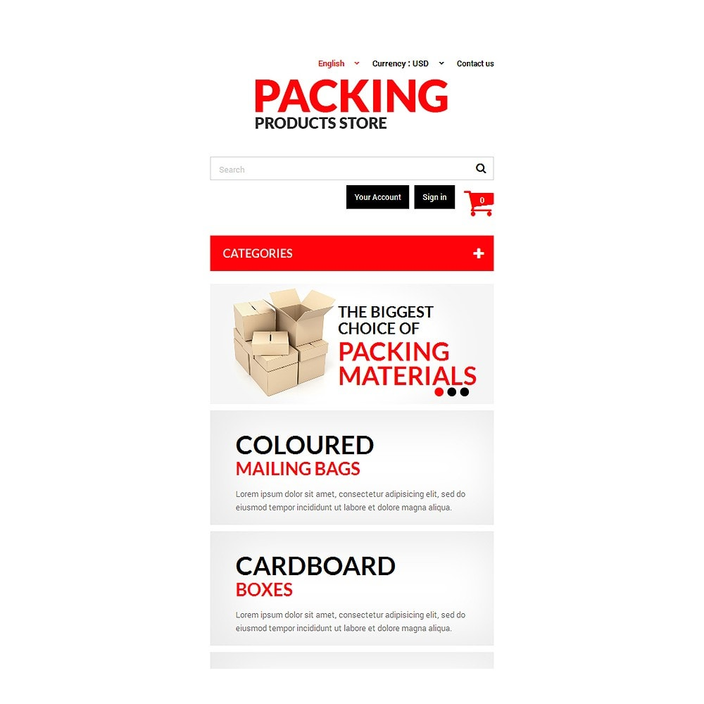 theme - Home & Garden - Packing Products - 8