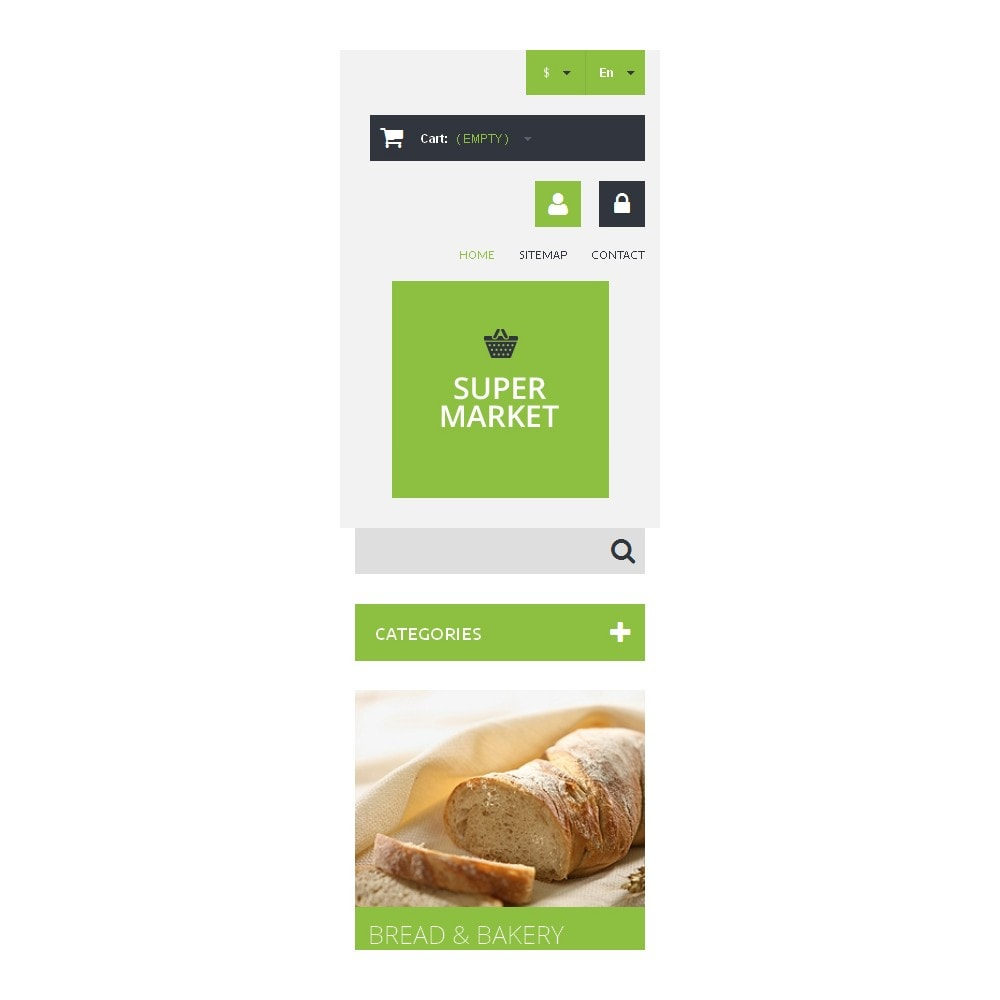 theme - Food & Restaurant - Supermarket Template - 9