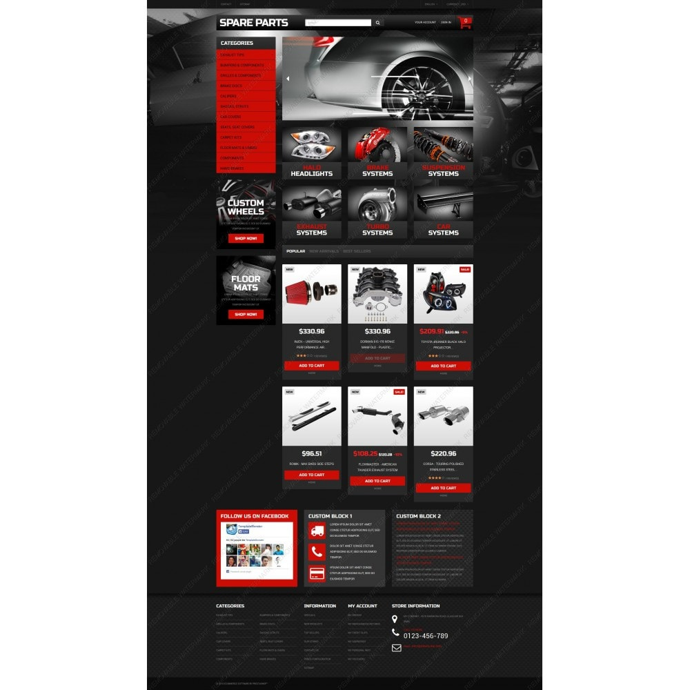 theme - Coches y Motos - Automobile Replacement Parts - 3
