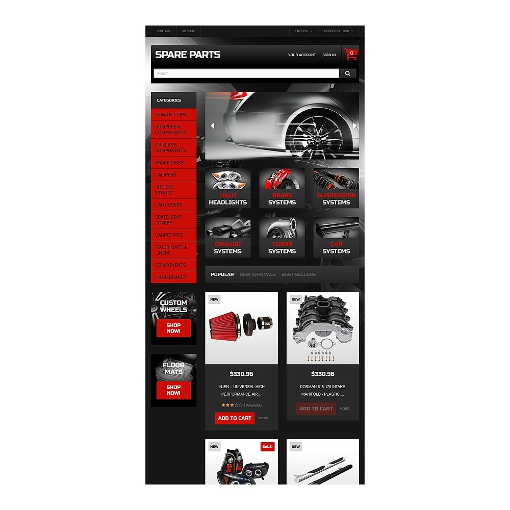 theme - Coches y Motos - Automobile Replacement Parts - 8